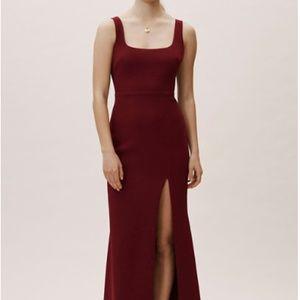 BHLDN Anthropologie Adena Dress BORDEAUX red SZ 4